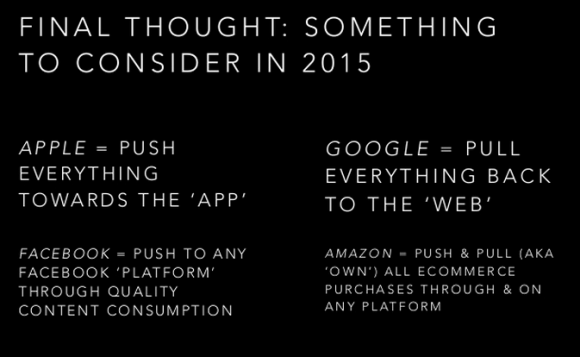 Final thoughts to consider in 2015