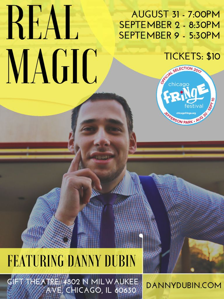 thumbnail of Real Magic Fringe Poster