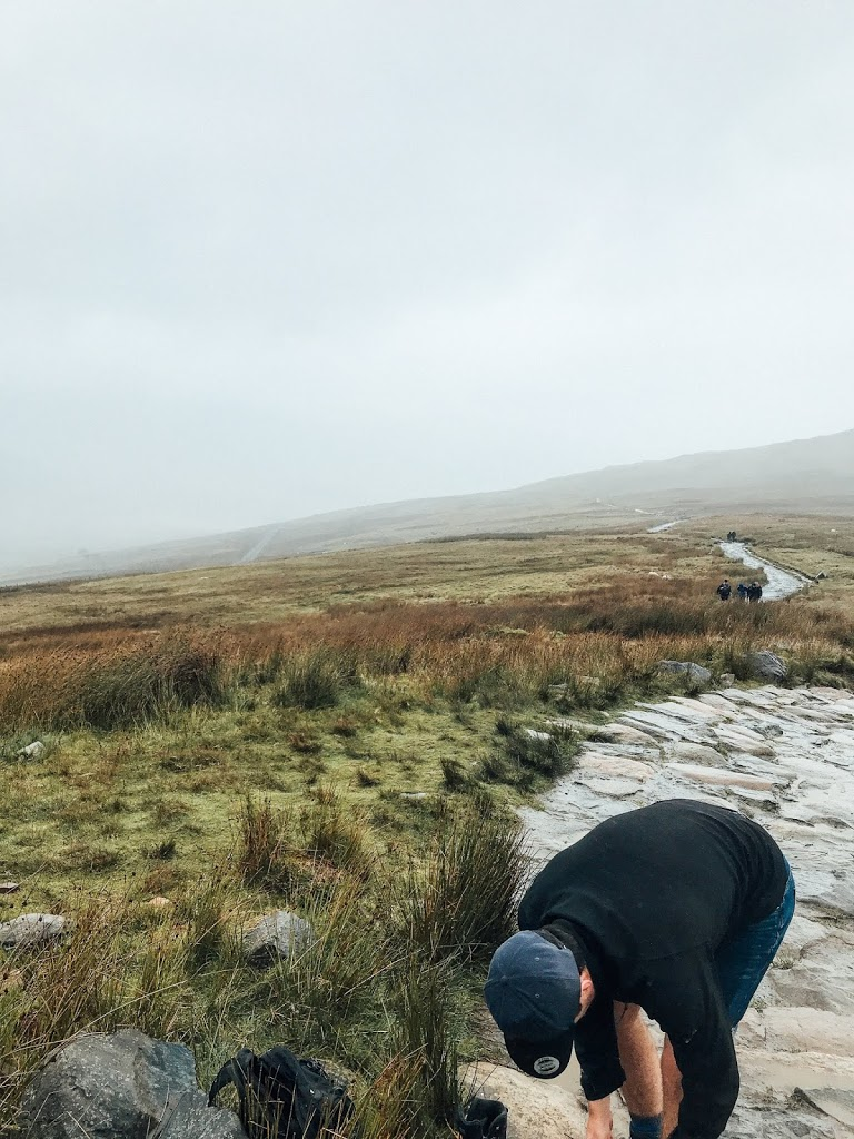 Path up Snowdon