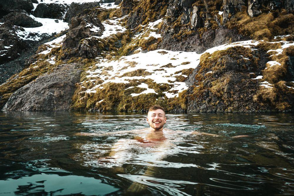 Taking a dip :P
