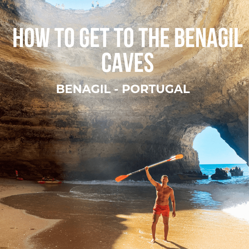 Getting to the Benagil Caves