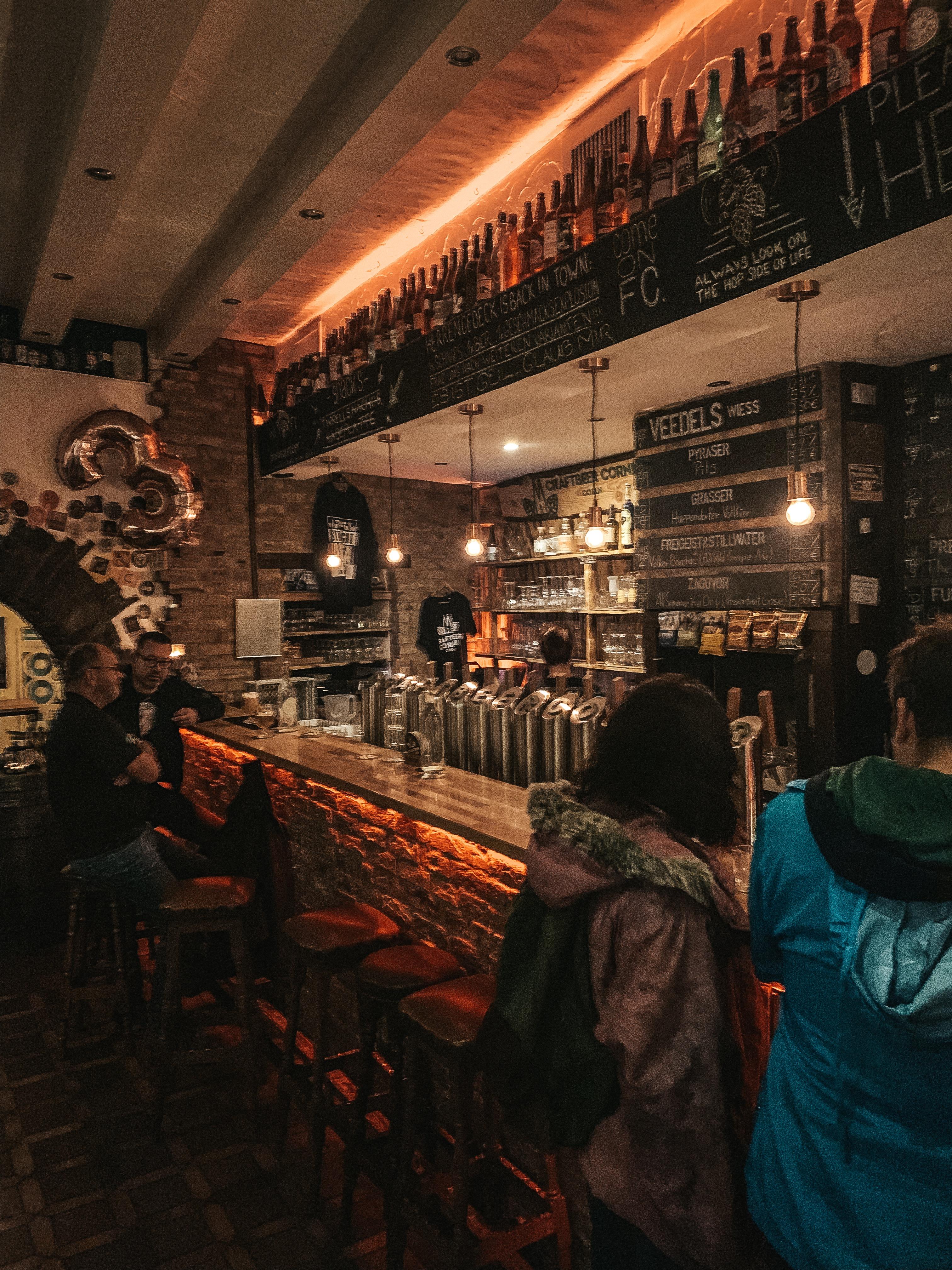 The Craftbeer Corner bar!