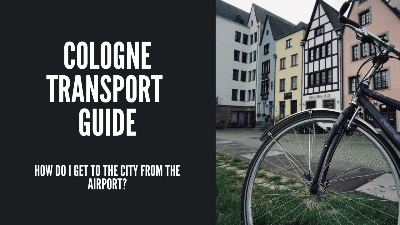Cologne airport to the city – Cologne transport Guide via @dannyexplores