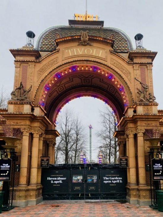 Tivoli Gardens Gates! Copenhagens theme park!