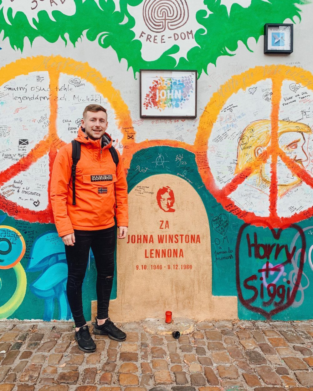 Prague - Lennon Wall