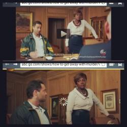 Actor Danny Fehsenfeld and Actress Viola Davis in How To Get Away With Murder