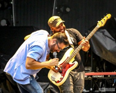 Danny Gokey with Eric Ramey at the Kingsfest