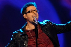 """Danny Gokey returns to American Idol to sing his new single """"My Best Days Are Aheard of Me"""""""