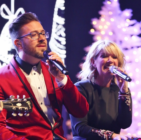 Danny Gokey Natalie Grant perform Zorn Arena Celebrate Christmas Tour