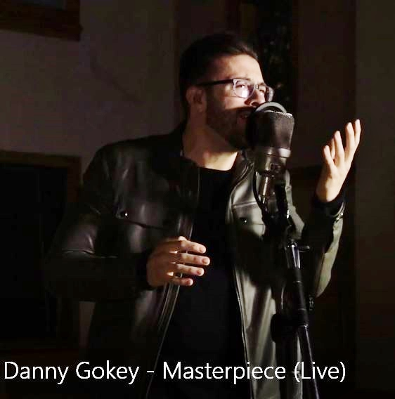 Danny Gokey performs his song Masterpiece at Ocean Way Studios