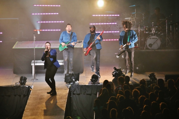 Danny Gokey Band on Very Next Thing Tour