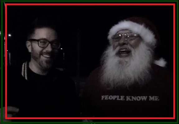 Santa Claus with Danny Gokey