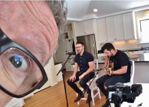 mark Lowry and Danny Gokey on Dinner Conversations