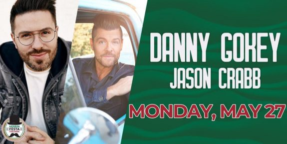 Danny Gokey and Jason Crabb in concert in Illinois