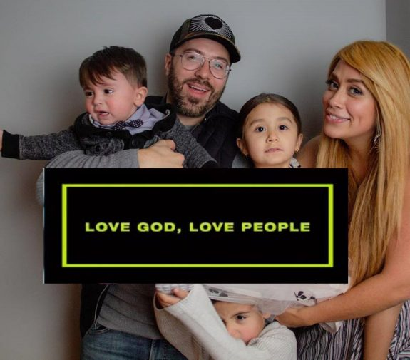 Danny Gokey fam and new song