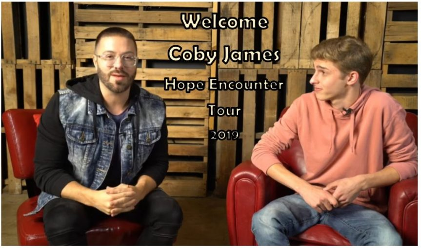 Danny Gokey welcomes Coby James to Hope Encounter Tour