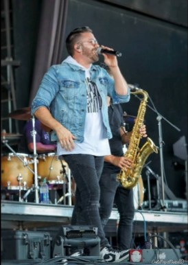 Danny Gokey performs at Christian Music Day photo by Sidestage Photogal