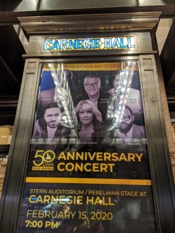 Danny Gokey performs at Carnegie