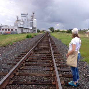 Jenny's surveys the road ahead.
