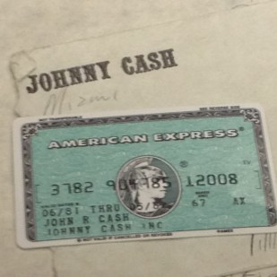 Johnny eschewed Cash.