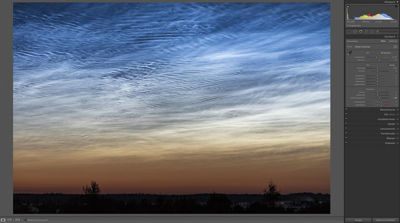 NLC clouds, nevel verwijderen +20