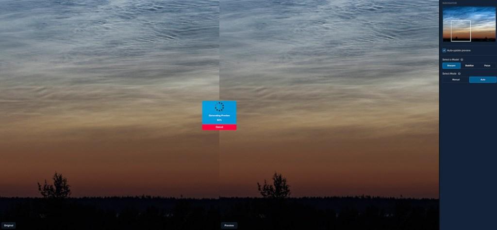 Topaz Labs Sharpen AI: foto automatisch verscherpen.