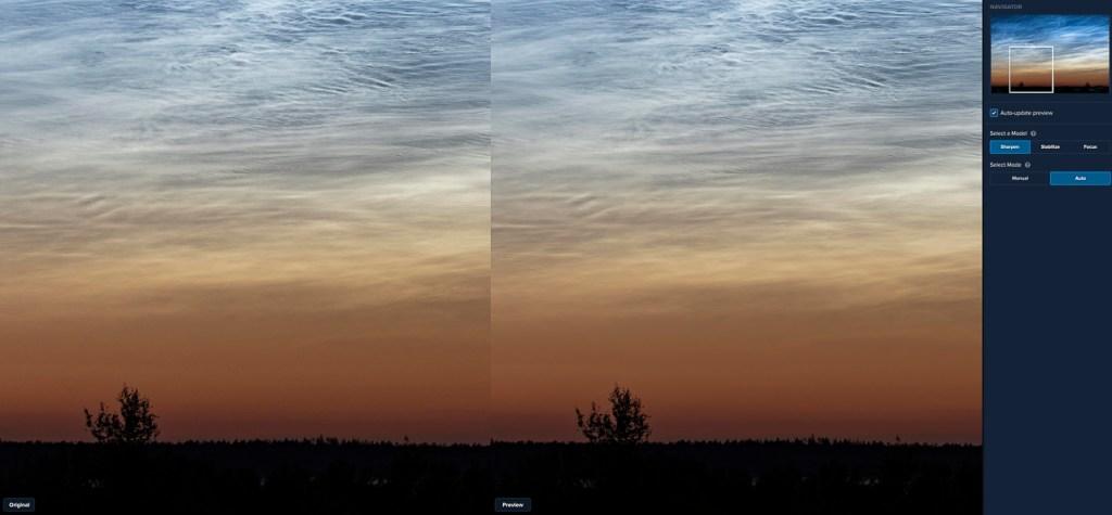Topaz Labs Sharpen AI: foto automatisch verscherpen voor (links) en na (rechts).