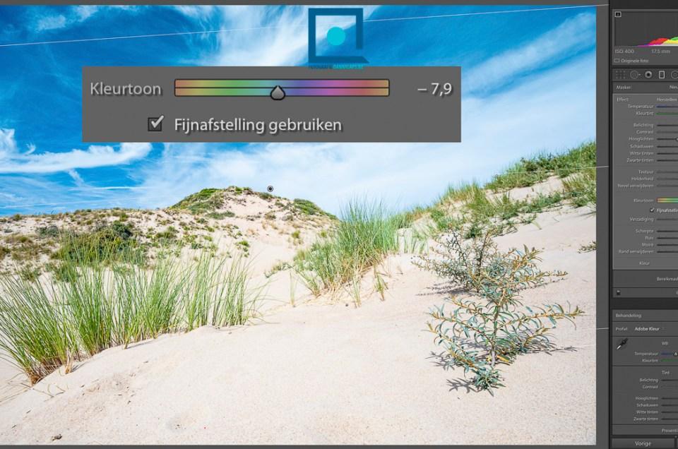 Lightroom kleurtoon fijnafstelling: hoe werkt deze functie? Tutorial!