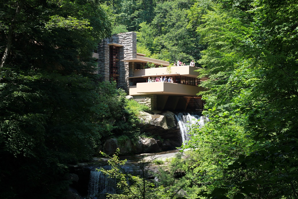 Day 10  Fallingwater  The World On The Road