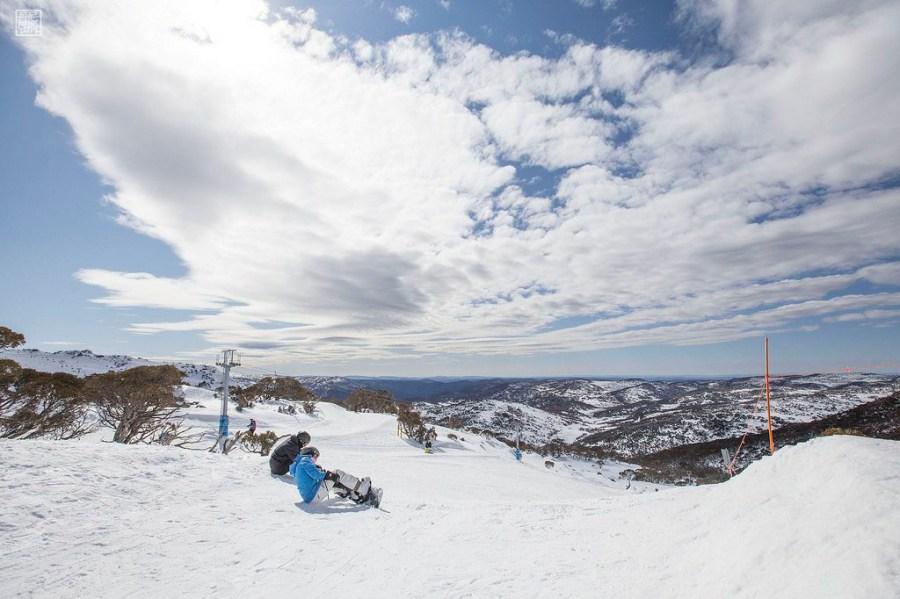 澳洲雪山工作
