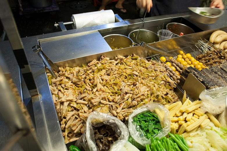 Chiayi night market food to eat