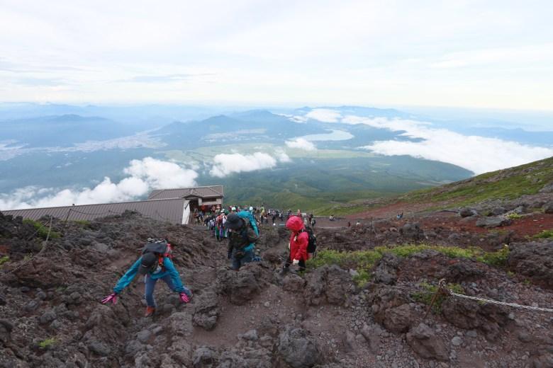 富士山自助