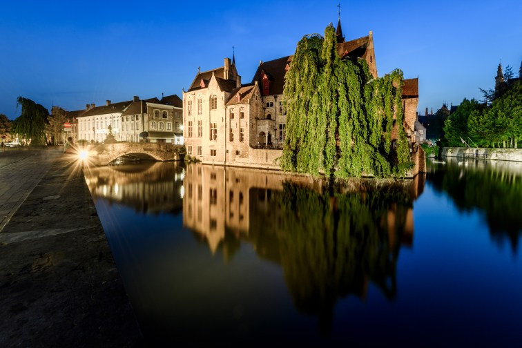 Weekendje Urbex, Brugge bezichtigen en nachtfotografie