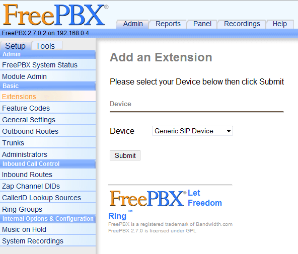 Freepbx Change Ip Address Cli