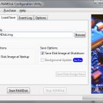 RAMDisk LoadSave Settings