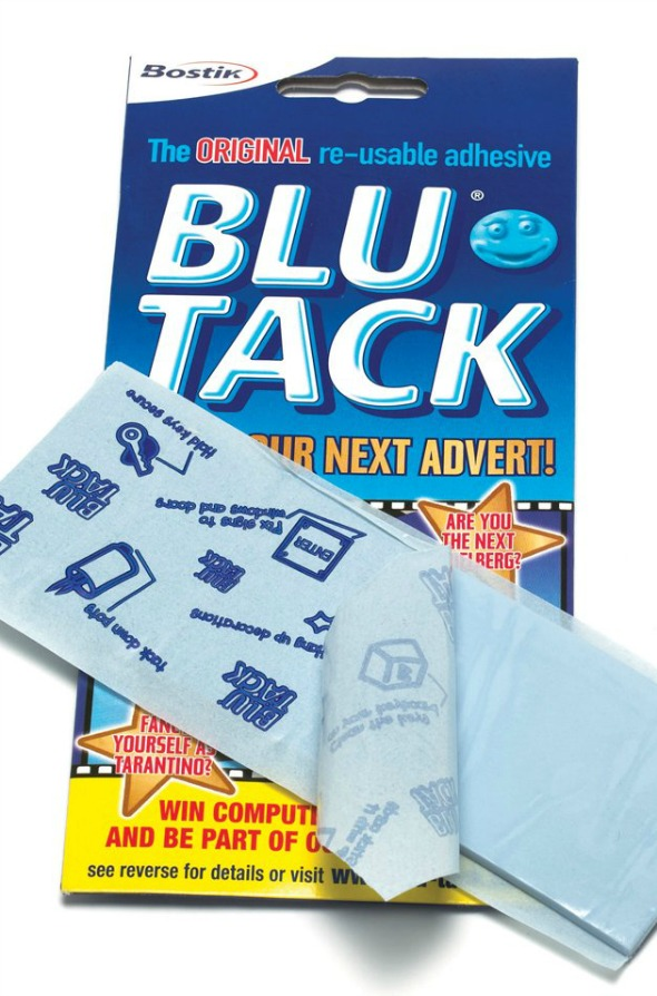 Blu-Tack - Doing what it takes to get the job in job interviews - From an article by DannyUK.com
