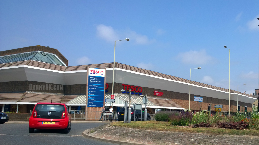 Tesco Chelmsford - Taken from a DannyUK.com article