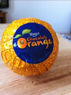 Terrys chocolate orange - whack or tap ?
