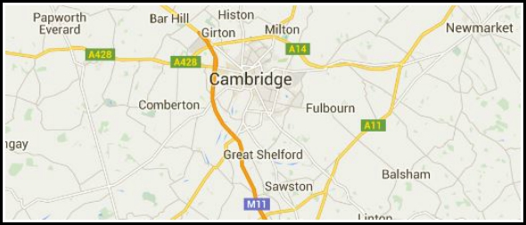 What county is Cambridge in?