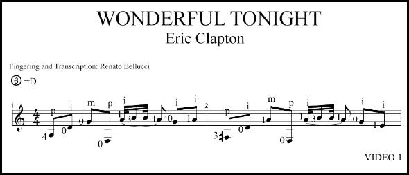 You look wonderful tonight. Wonderful, but poor.