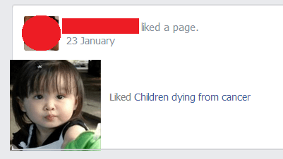 Do you like children dying from cancer?
