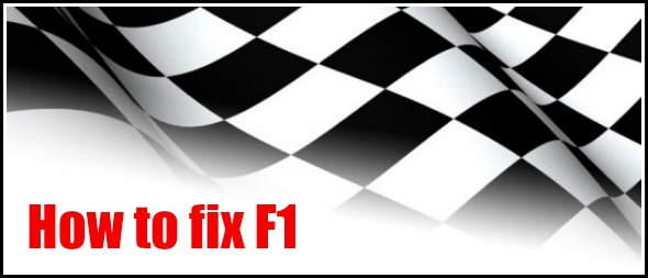 How to fix F1