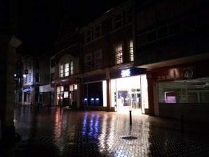 Chelmsford at night – Halifax and Santander