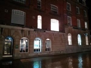 Chelmsford at night – Lloyds Bank