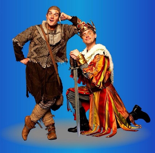 Dick and Dom in Spamalot!