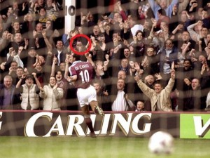 Paolo Di Canio goal vs Wimbledon - Taken from an article about football fans by DannyUK.com