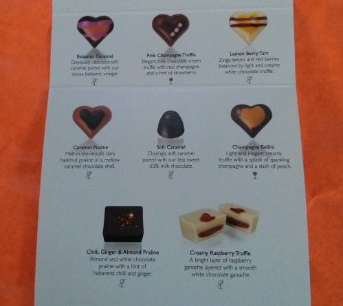 Hotel Chocolat review - A selection of the chocolates