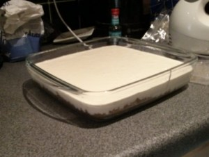 Messy vanilla cheesecake – 2014-01-13 11.41.50
