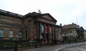 Walker Gallery, Liverpool - Taken from a review of the David Hockney Early reflections exhibition by DannyUK.com