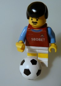 West Ham lego player by Savage Steel on Flickr